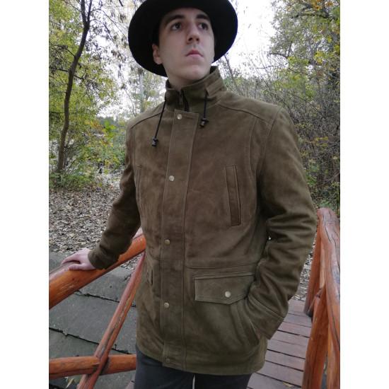 Buffalo bőr kabát