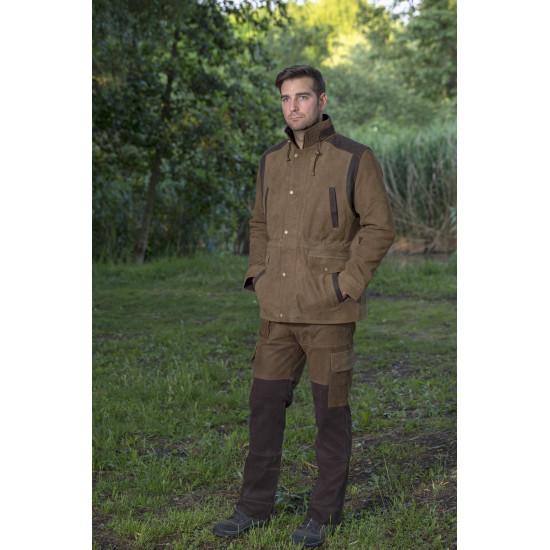 Kaffer bőr kabát